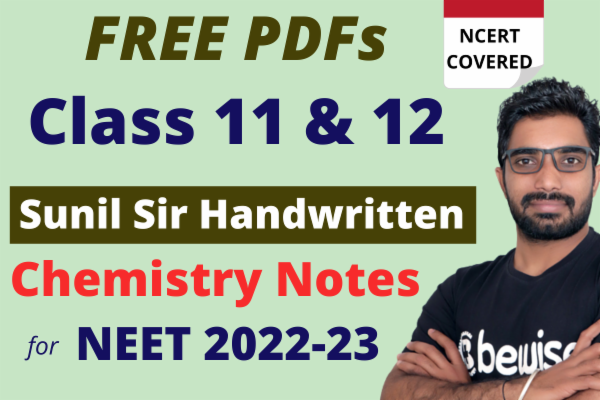 Free Chemistry Notes for NEET/AIIMS cover